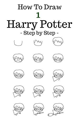 How To Draw Harry Potter Step By Step To Draw Cartoon Character
