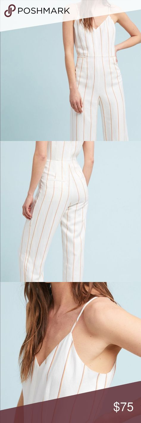 fab8be1816d Anthropologie jumpsuit NWT My Posh Picks Jumpsuit Anthropologie