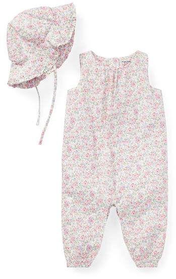7395d4a7 Ralph Lauren Kids Ralph Lauren Kids Floral Coverall Hat Set #ad ...