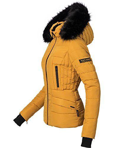 Marikoo Damen Jacke Stepp Jacke Kapuze Warme Steppjacke Trend Outdoor NEU Sole