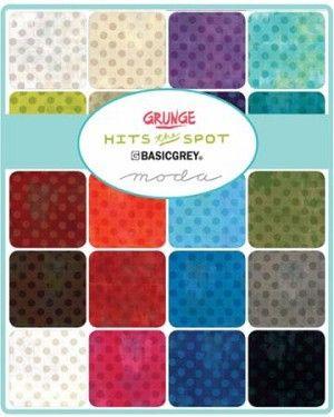 Grunge Seeing Stars Layer Cake Basic Grey Grunge Fabric 42 pieces Fabric Layer Cake Moda Fabric
