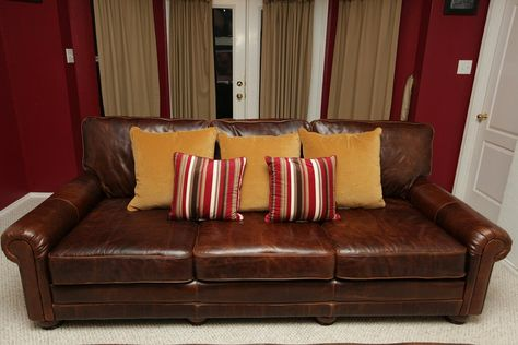 Awe Inspiring Our 8 Ft Long Extra Deep Couch Made Of Brompton Brown Short Links Chair Design For Home Short Linksinfo