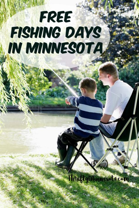 Free Fishing Days In Minnesota Midwest Travel Mn State Parks