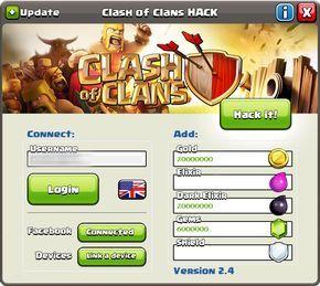 Download Clash Of Clans Hack Unlimited Gems Elixir Golds