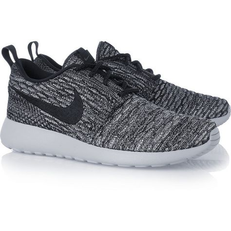 new arrival 241df 4beb2 Nike Roshe One Flyknit mesh sneakers, Women s, Size  8 ( 150) ❤ liked on  Polyvore featuring shoes, sneakers, nike, nike footwear, lightweight shoes,  nike ...