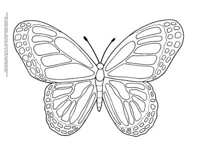 Butterfly Coloring Pages Free Printable From Cute To Realistic Butterflies Butterfly Coloring Page Easy Coloring Pages Insect Coloring Pages