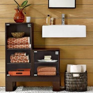 Cute Ideas for Bathroom Storage | cute bathroom storage | For the Home