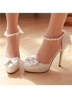 New Comfortable Round Bridal shoes Bridal shoe Rounding and