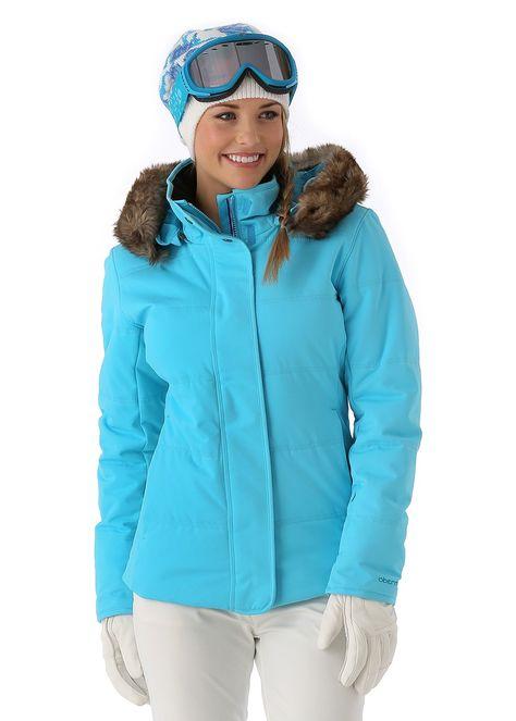 Obermeyer Women's Tuscany Jacket (Ocean) from WinterWomen ...