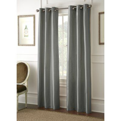 Laurel Foundry Modern Farmhouse Zana Solid Blackout Grommet Curtains In 2020 Grommet Curtains Colorful Curtains Curtains