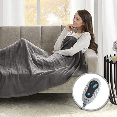 Magnificent Top 10 Best Electric Throw Blankets In 2019 Reviews Best Andrewgaddart Wooden Chair Designs For Living Room Andrewgaddartcom