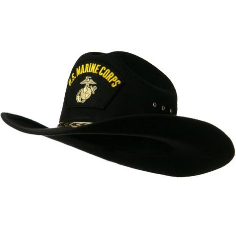 US Military Cowboy Outback Hat - Marine  f6cba87ee90