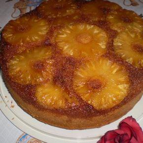 Bolo De Abacaxi Caramelizado Receita Receita De Bolo De