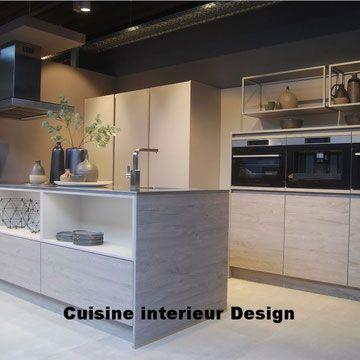 Cuisine Design Cuisiniste Specialiste Des Meubles De Cuisine Haut De Gamme Sur Mesure De Qualite Alleman En 2020 Cuisines Design Cuisine Design Moderne Meuble Cuisine