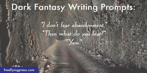 10 New Dark Fantasy Romance Prompts (to Inspire Your Writing) — Dark Fantasy Novels   Free Flying Press