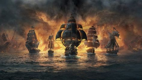 Skull and Bones trailer – Skull and Bones isn't due to be released until 2019 or possibly even 2020. Pirates and programmers are notoriously resistant to deadlines. #games #pirates #skullbones