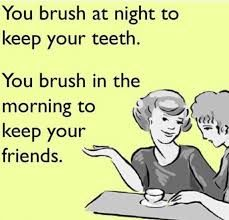 This one just makes me #laugh #brushing #friendship #teeth ...