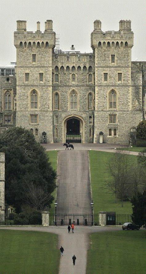 Windsor Castle, England (castle inspiration)