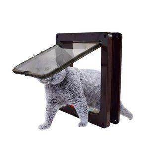 Aeeyui ペットドア くぐーる 犬猫出入り口 猫用 小犬用 Lサイズ