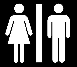 this is an example of a symbol this symbol is universal you have this is an example of a symbol this symbol is universal you have most likely seen these symbols on the door of restrooms the left side symbol is