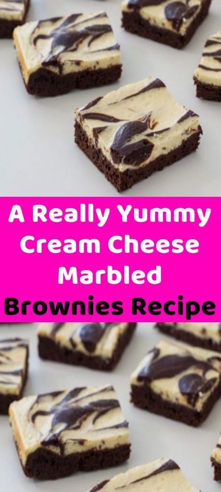 A Really Yummy Cream Cheese Marbled Brownies Recipe Brownie Recipes Best Dessert Recipes Dessert Recipes