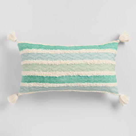 Indoor Outdoor Patio Lumbar Pillow