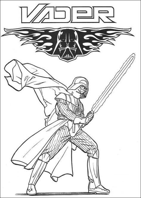 Darth Vader Coloring Pages Best Coloring Pages For Kids Star Wars Coloring Book Star Wars Coloring Sheet Lego Coloring Pages