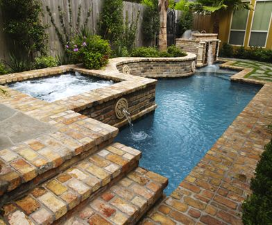 houston tx swimming pools, patio pools, pool designs, and bedrock ...