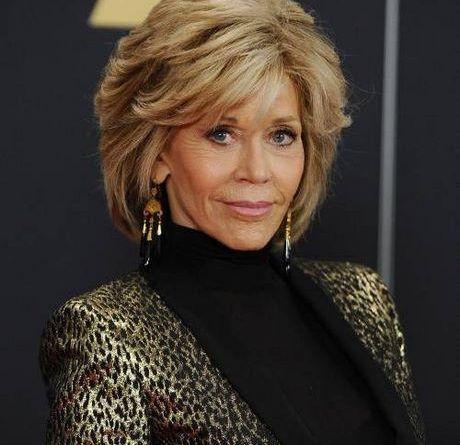 Jane Fonda Frisuren Frisuren 2019 Styling Kurzes Haar Haar Styling Haarschnitt Ideen