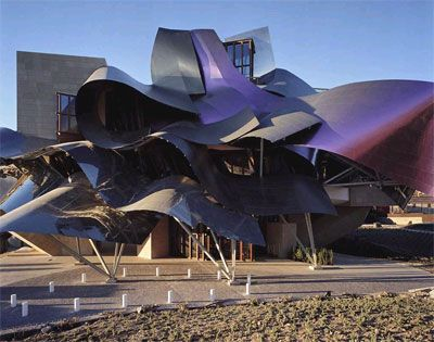 Bodega Hotel Marques De Riscal Elciego Alava Frank Gehry