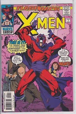 Flashback X Men 1 Minus Marvel Comics Magneto Comics Comic Book Collection Xmen Comics