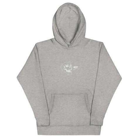 Nice Hoodie - Carbon Grey / 2XL