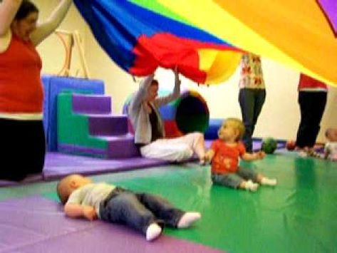 Parachute play for 6-18 months