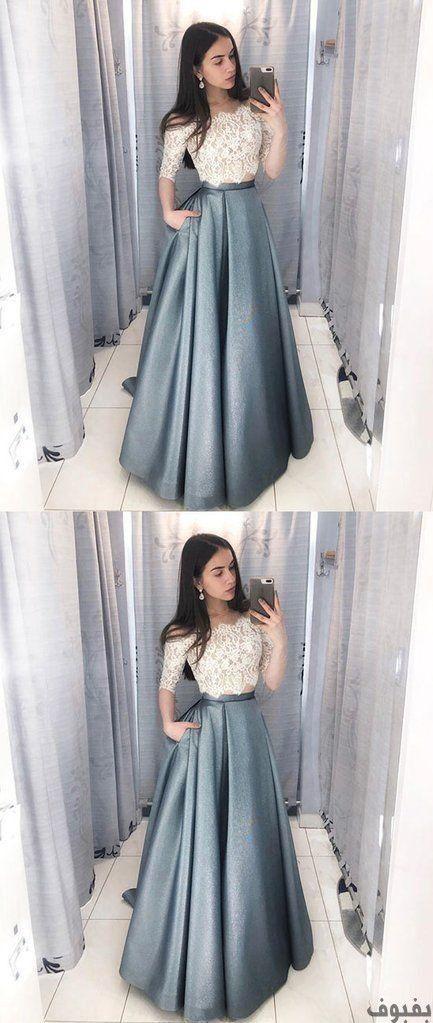 فساتين سهرة دانتيل 27 فستان دانتيل للسهرات و الحفلات بفبوف Prom Dresses For Teens Prom Dresses Lace Prom Dresses With Sleeves