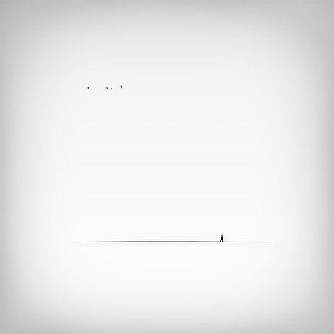 Minimalistische Schwarz-Weiß-Fotografie von Hossein Zare - KlonBlog » KlonBlog