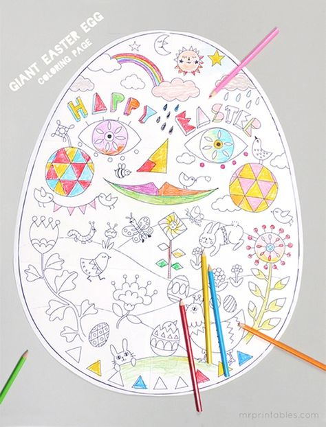 Ecoledecrevette Coloriage.Fun Free Easter Printables For Kids Easter Coloriage Paques