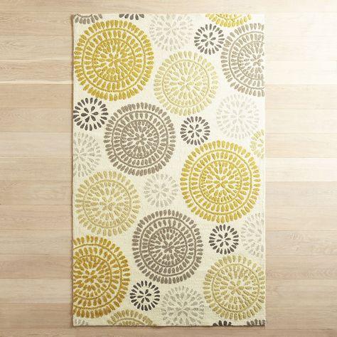Maysa Pinwheel Yellow 8x10 Rug Yellow Rug Carpet Runner Rugs