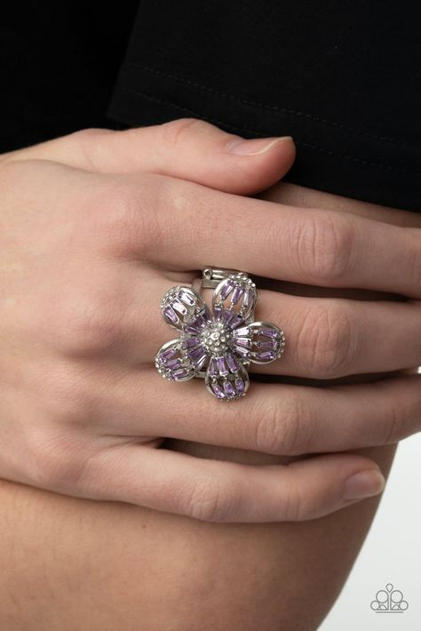 The Botanical Ballroom Ring was featured as part of Paparazzi's 2021 Empower Me Pink Spring Preview Collection.