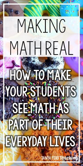 Making Math Real