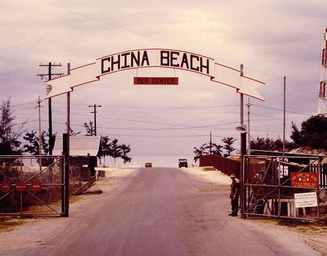 """China Beach: RcR Center"" In country rest and recreation for troops was found at China Beach in Da Nang. From an article in the Tropic Lightning newspaper (14Sep1970): "" At China Beach, a soldier can shuck the war for three days to surf, swim, sail..."