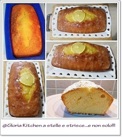 Plumcake al Limone con Bagna al Limoncello di Gloria KitchenUSA ...