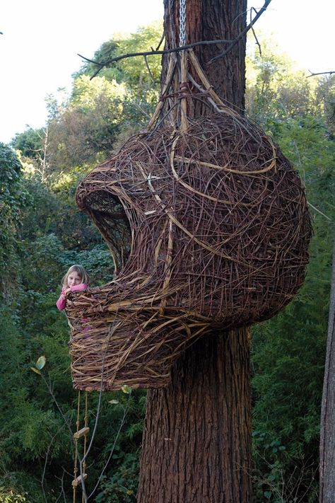 Woven treehouse