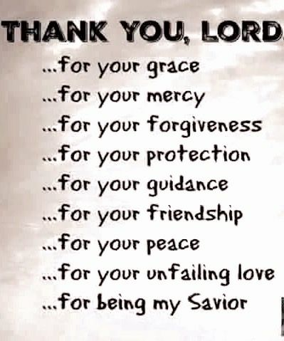Thank you Lord | Prayers | God prayer, Thank you lord
