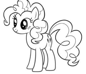 Kolorowanka My Little Pony Pinky Pie Kolorowanki Darmowe