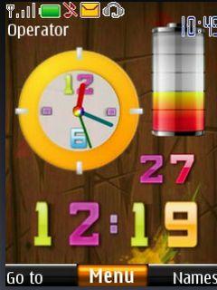 Madison : Nokia mobile clock themes free download