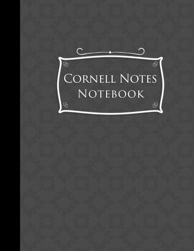Download Pdf Cornell Notes Notebook Cornell Note Taking Cornell