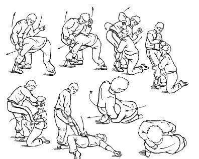 Kazhdomu Muzhchine Pridetsya Dratsya 24 Pravila Ulichnogo Boya Martial Arts Drawings Art