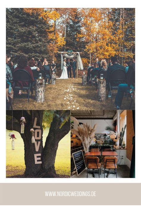 Wedding Inspiration Nordic Weddings - Wedding & Event Planning in Northern Germany #hochzeit #wedding #love #dreamwedding #dream #fairytale #autumnwedding #outdoorwedding #inspiration