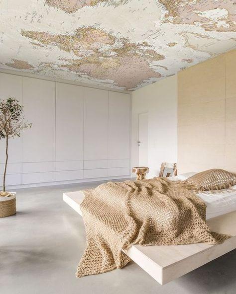 Interieur Ideeen Behang.Plafond Behangen Plafond Ideeen Behang Plafond En Thuis Behang