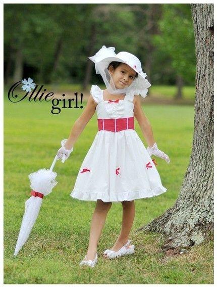 Mini Mary Poppins Boutique Ollie Girl Sundress Dress Costume Handmade Custom Etsykids 12months 8 Years Girls Princess